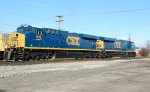 CSX 849 & 848